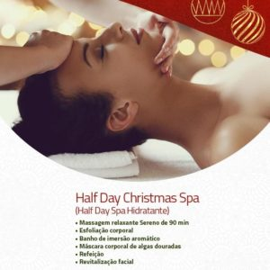 Half Day Christmas Spa (Half Day Spa Hidratante)